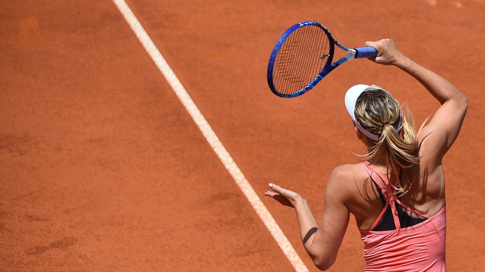 A russa Maria Sharapova garantiu a volta à segunda colocação do ranking com a final em Roma