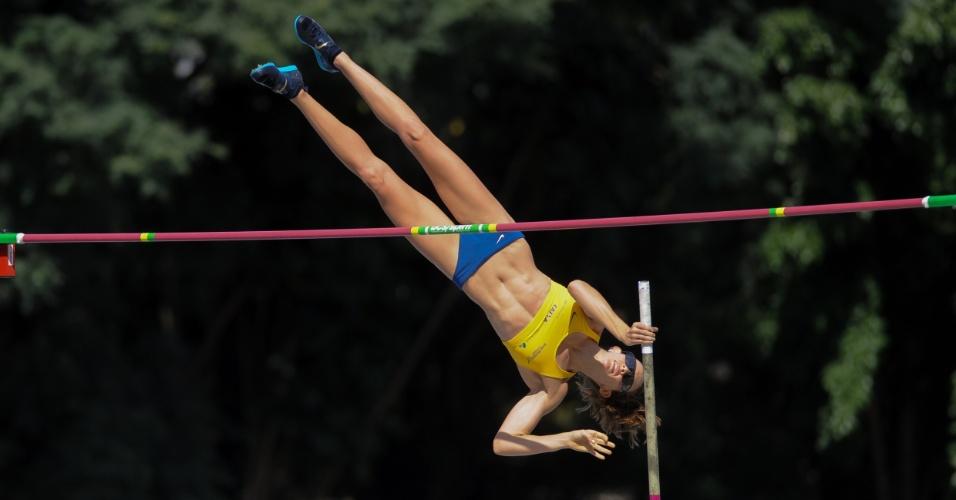 Fabiana Murer vence o Troféu Brasil, em São Bernardo
