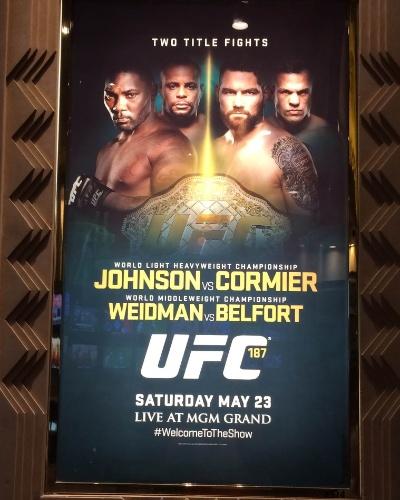 Hotel MGM já respira UFC, a quatro dias do evento de número 187