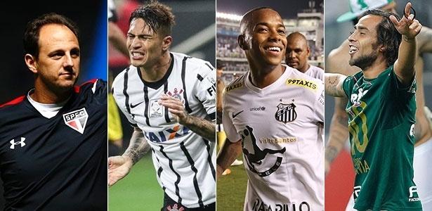 Ídolos podem deixar os 4 grandes de São Paulo no segundo semestre