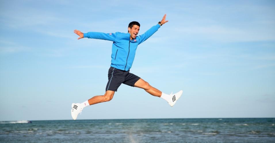 Djokovic está voando contra os Top 10 em 2015
