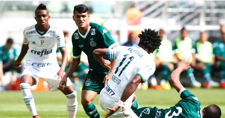 Palmeiras e Goiás se enfrentam em jogo do Campeonato Brasileiro