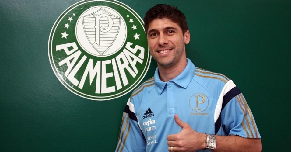 Fellype Gabriel é reforço do Palmeiras para o Brasileiro