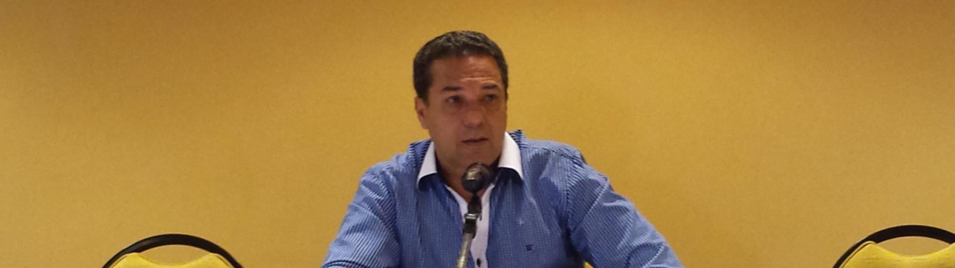 26 mai. 2015 - Vanderlei Luxemburgo concede entrevista após ser demitido do comando do Flamengo