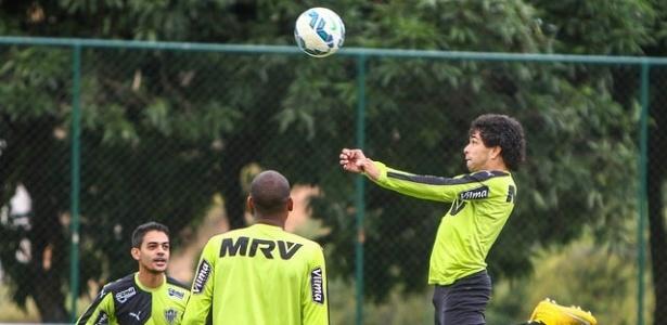 Antes da finalização, Atlético-MG também anda pecando na construção das jogadas