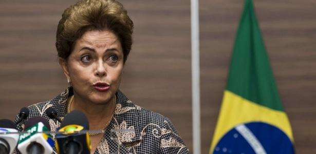 Dilma Rousseff concedeu entrevista coletiva no México nesta quarta-feira