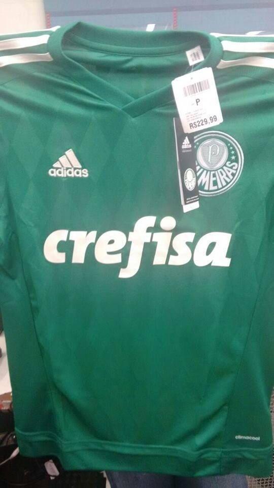 Foto de suposta nova camisa do Palmeiras circula na internet