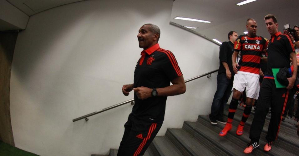 Cristóvão Borges caminha para a sua estreia pelo Flamengo no Maracanã