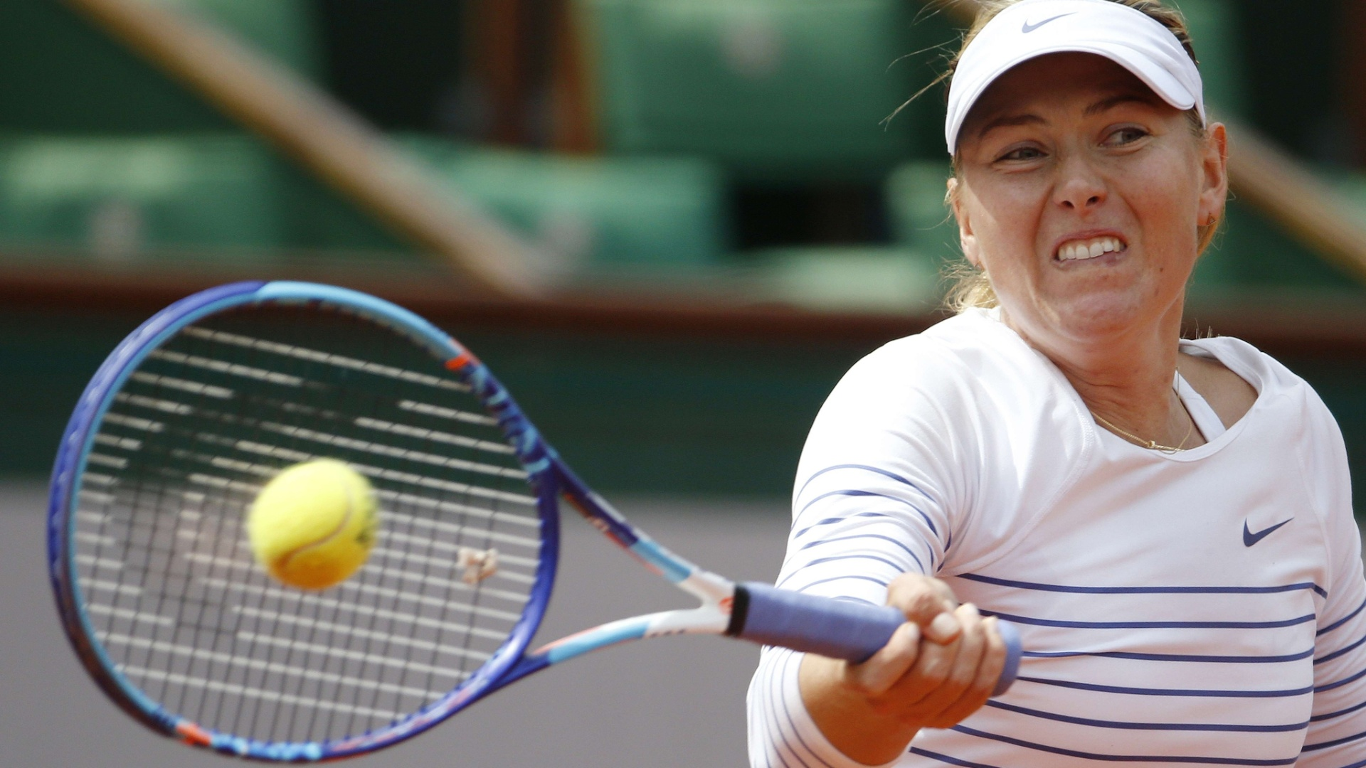 Maria Sharapova nas oitavas de final em Roland Garros