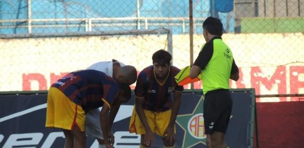 O Barça carioca perdeu por 1 a 0 para o Barra da Tijuca com gol do presidente do clube e caiu para a Série C