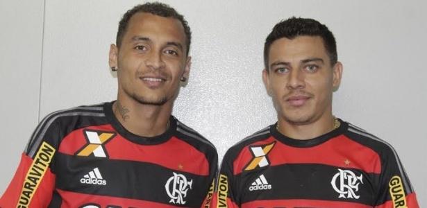 Ex-Palmeiras, os reforços Alan Patrick e Ayrton vestem a camisa do Flamengo