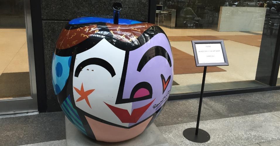 Trump Tower conta com obra de arte do artista brasileiro Romero Brito