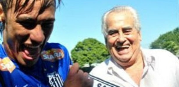 Neymar usa as redes sociais para se despedir de Zito
