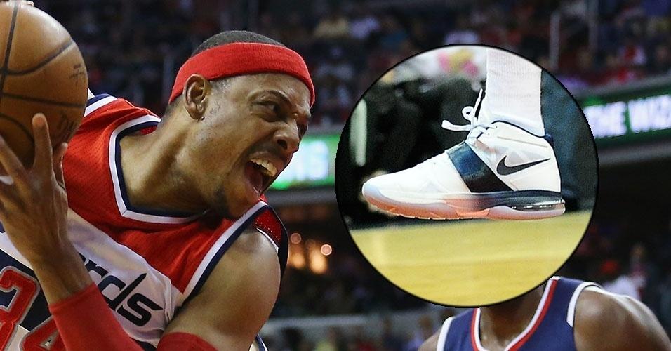 Você sabe quais são os tênis dos astros da NBA  - Esporte - Fotos ... 63f4d617d5610