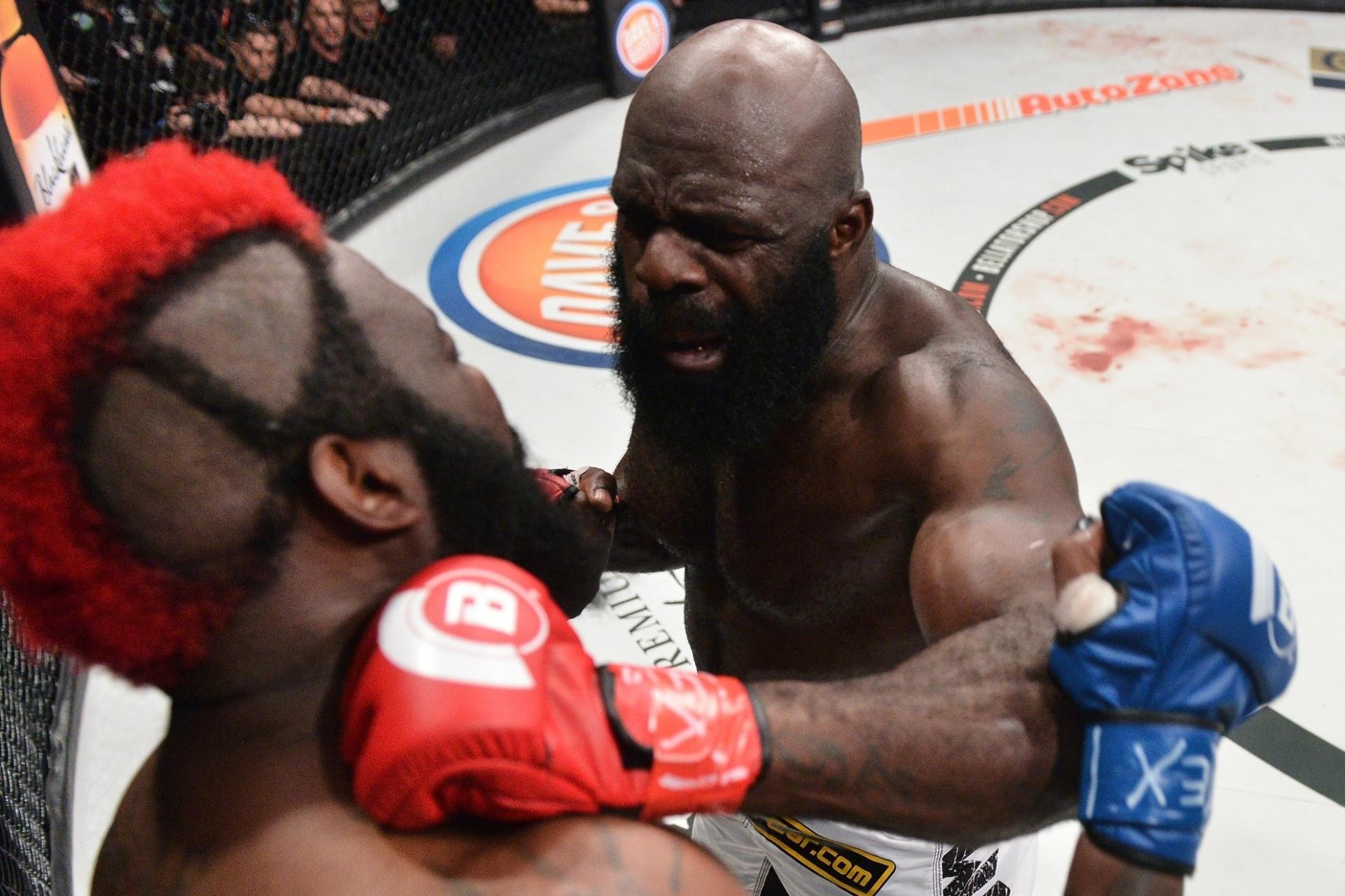 Kimbo Slice enfrenta Dada 5000 no Bellator