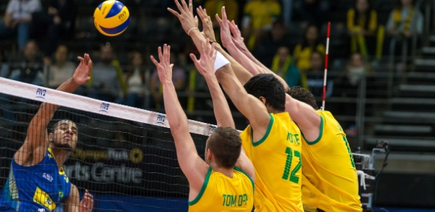 Lucarelli foi o principal pontuador contra a Austrália terminando com 15 pontos