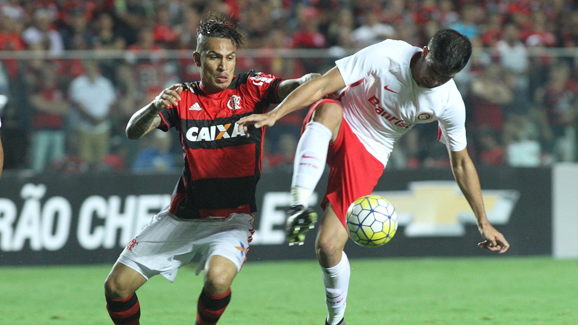 Guerrero foi fundamental na vitória do Flamengo sobre o Internacional em Cariacica