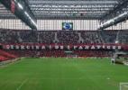 Botafogo treinou em campo molhado para simular Arena da Baixada