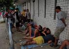 Flamenguistas passam noite em fila por ingressos e clube para vendas online - Ilan Pellenberg/FramePhoto
