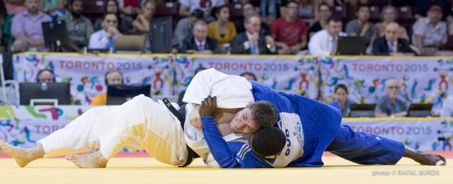 Victor Penalber em ação nos Jogos Pan-Americanos de Toronto