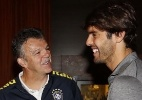 Chamado às pressas, Kaká já está com a seleção brasileira em Denver