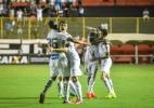 Sem trio olímpico, Santos ganha e acaba com embalo do Vitória
