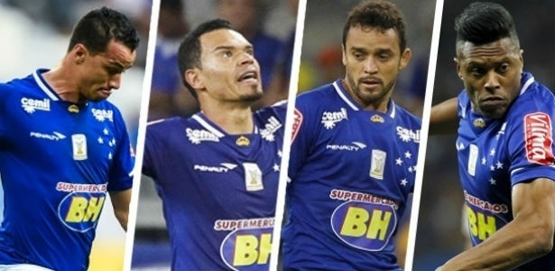 Quarteto está fora dos planos do Cruzeiro na temporada de 2016
