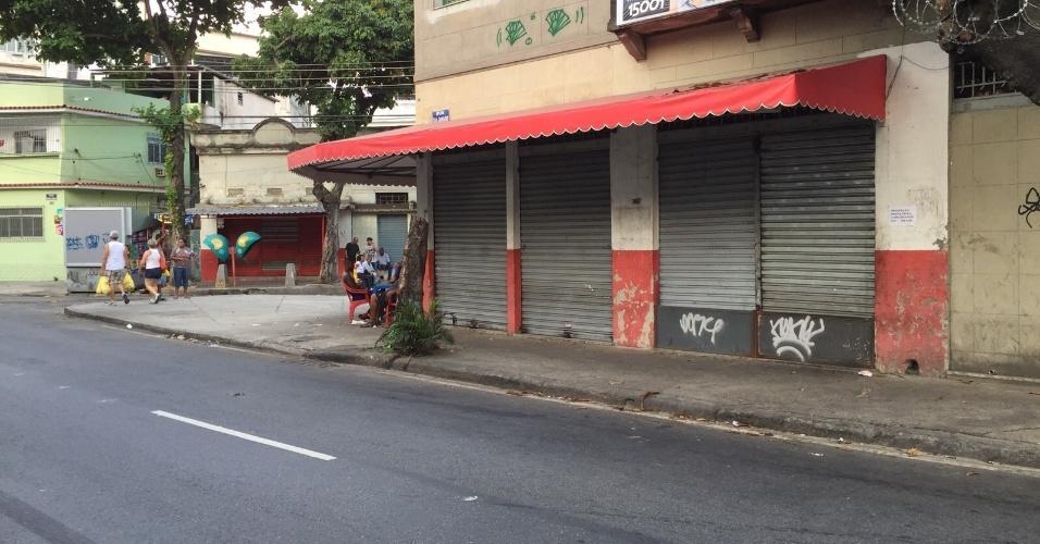 Bares em São Januário fecham as portas com medo de