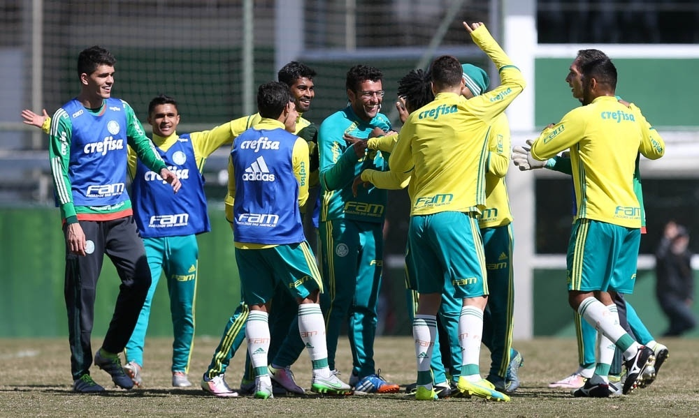Alberto Valentim jogadores Palmeiras