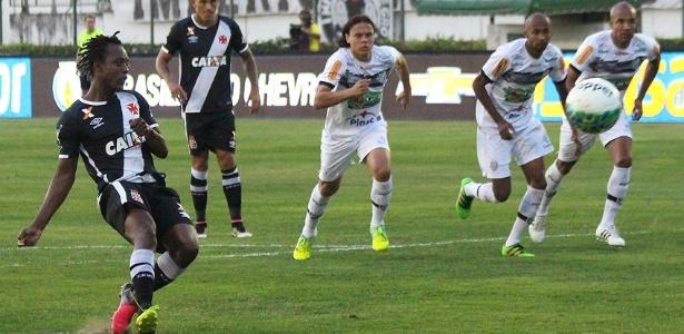 Andrezinho deixou o seu, mas não foi suficiente para a vitória do Vasco neste sábado