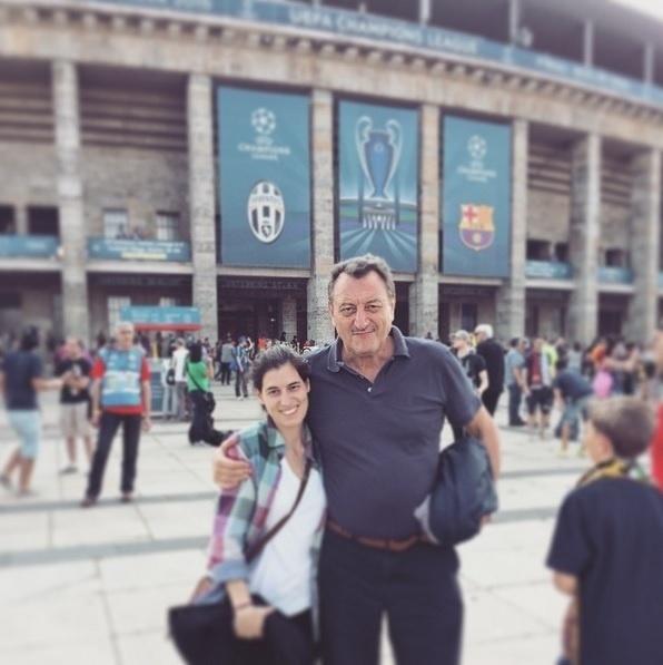 O pai de Melissa Bernasconi, mulher de Lucas Barrios, é empresário do jogador