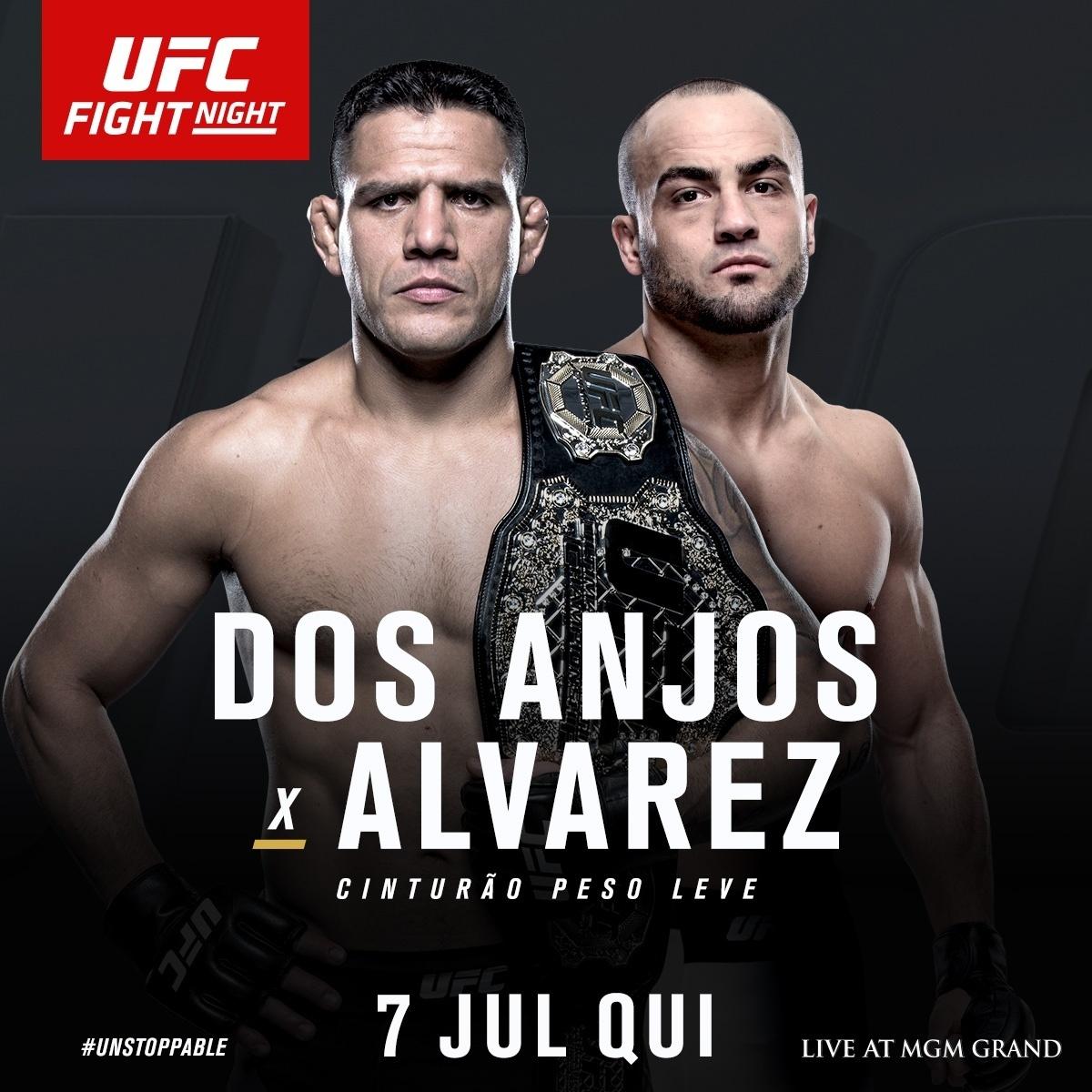 UFC anuncia Rafael dos Anjos x Eddie Alvarez em julho