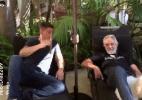 Em vídeo, Nick Diaz fuma cigarro gigante de maconha ao lado de comediante - Reprodução