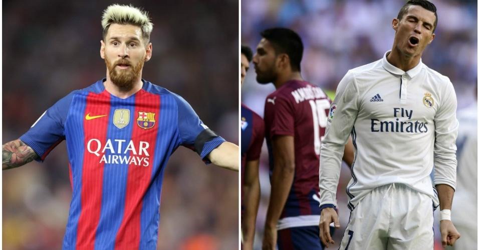 Messi e Cristiano Ronaldo ficam fora da lista dos três melhores da história do Espanhol