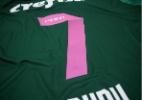 Palmeiras troca a cor do número da camisa em apoio ao Outubro Rosa