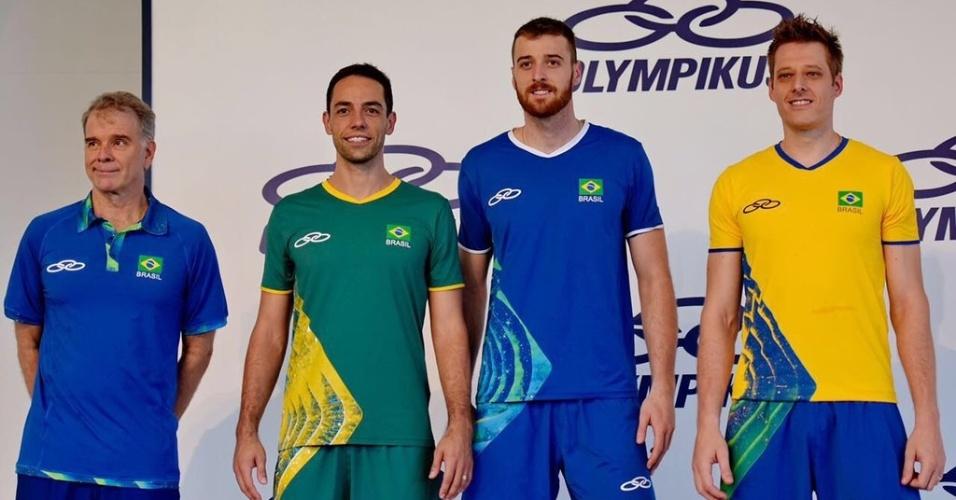 Apresentação do uniforme olímpico do vôlei masculino