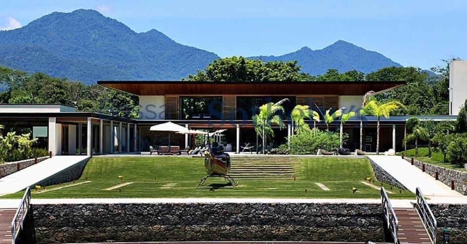 Casa comprada por Neymar em Mangaratiba, no Rio de Janeiro, tem 6265 m²