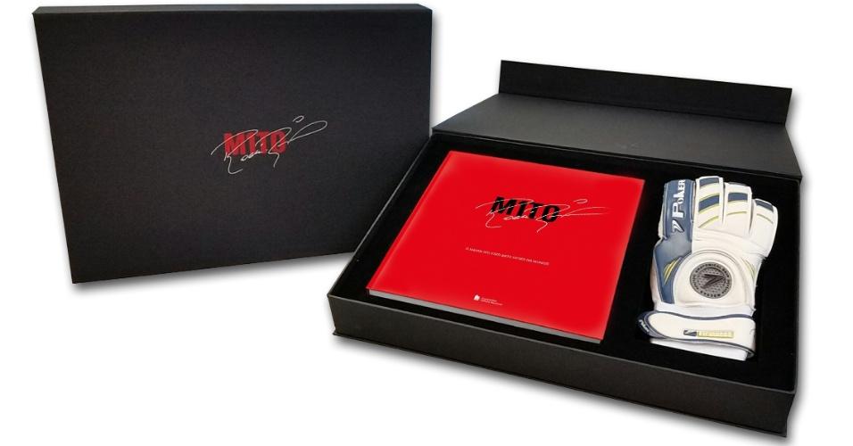 Kit em homenagem a Rogério Ceni terá quatro versões diferentes. O kit Libertadores virá com a capa vermelha