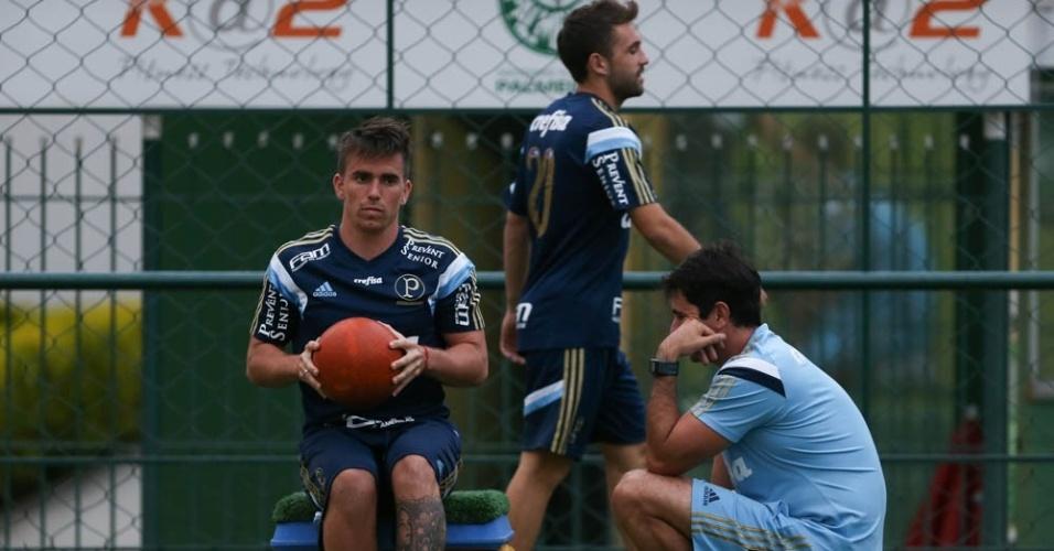 Mouche chegou ao Palmeiras em 2014 e disputou apenas 26 partidas pelo clube paulista