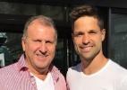 Fã de Zico e família: o Diego que volta ao Brasil para jogar no Flamengo - Reprodução Instagram