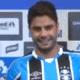 Henrique diz que optou pelo Grêmio por fator desportivo e explica 'chapéu'