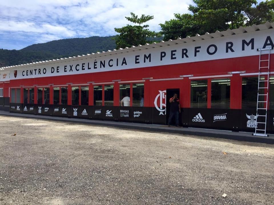 Ninho do Urubu, CT do Flamengo, após reforma