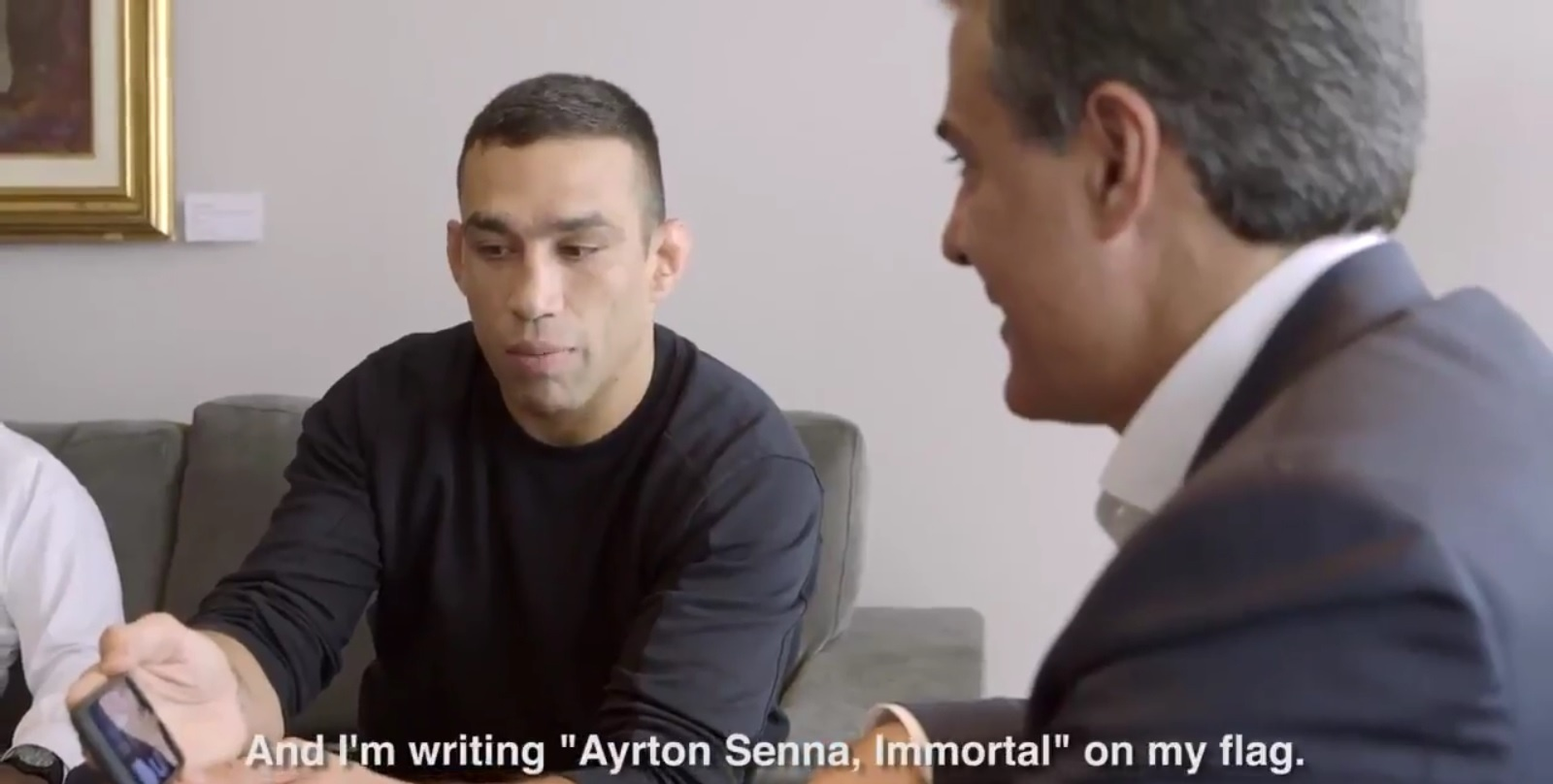 Werdum homenageará Ayrton Senna no UFC 198