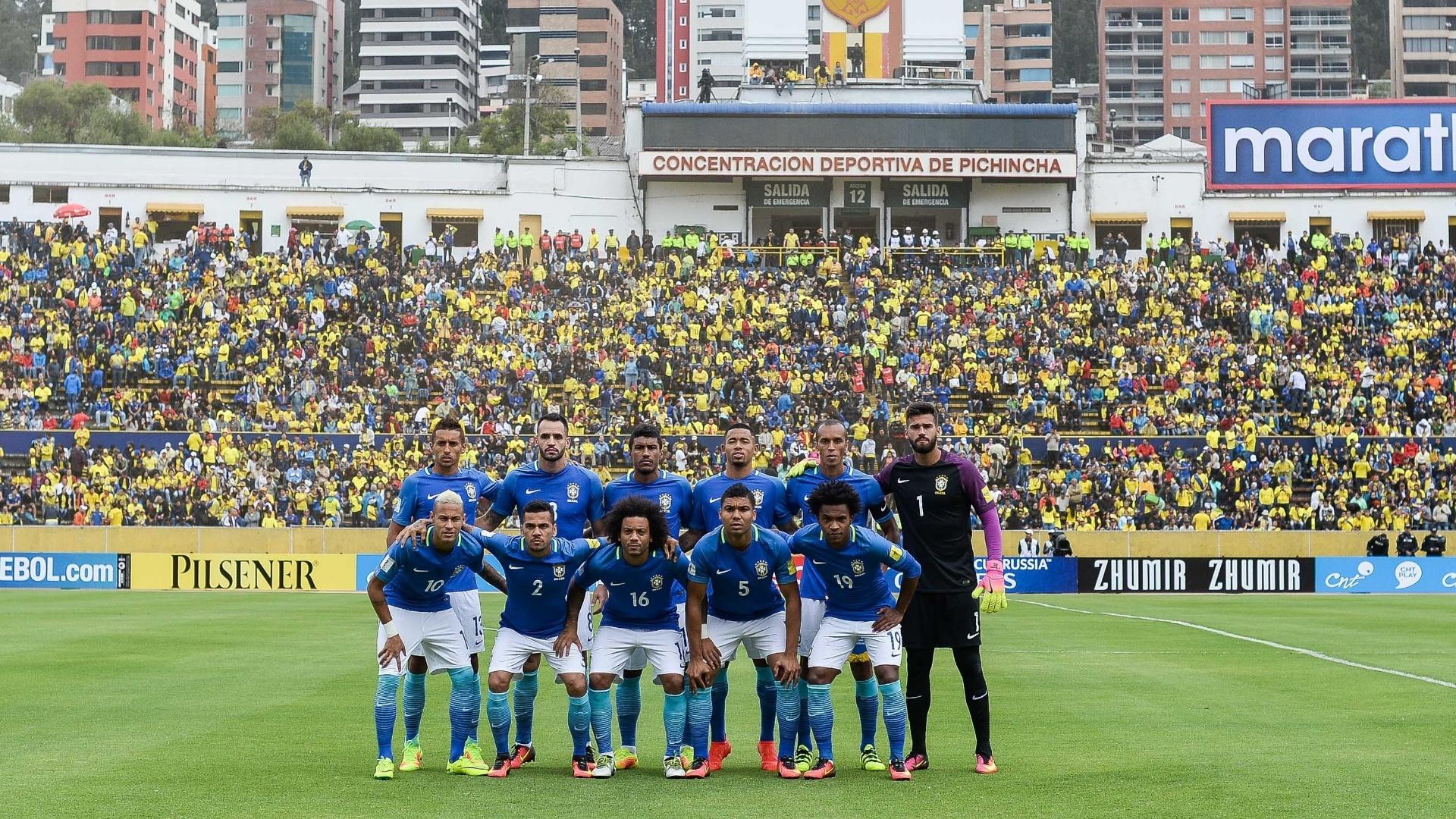 Seleção brasileira inicia Era Tite diante do Equador, em Quito