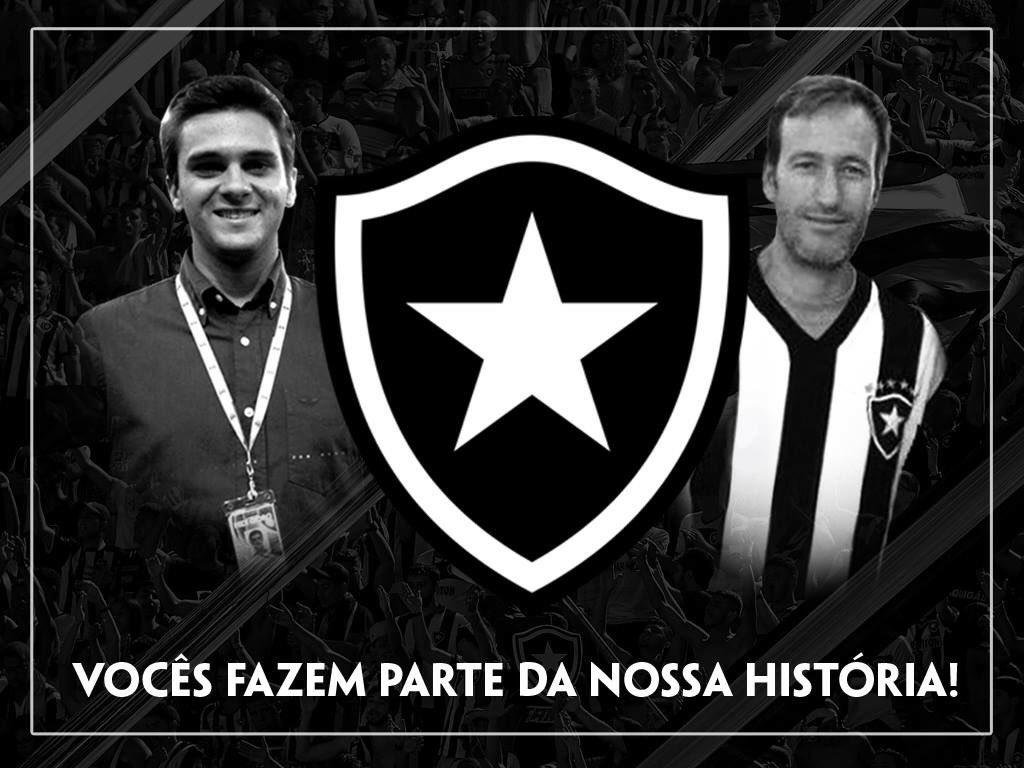 Guilherme Marques e Guilherme Van der Laars são homenageados pelo Botafogo