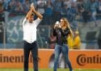 """""""Carol estará em campo se o Grêmio for campeão"""", diz Renato Gaúcho - LUCAS UEBEL/GREMIO FBPA"""