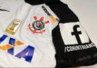 Corinthians estampa Facebook nas mangas da camisa em parceria