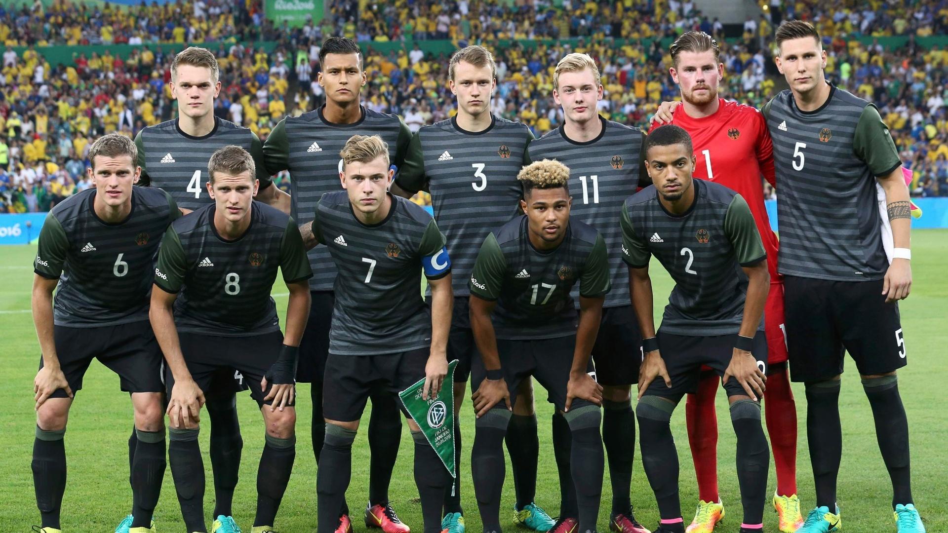 Alemanha preparada para encarar o Brasil na final da Olimpíada