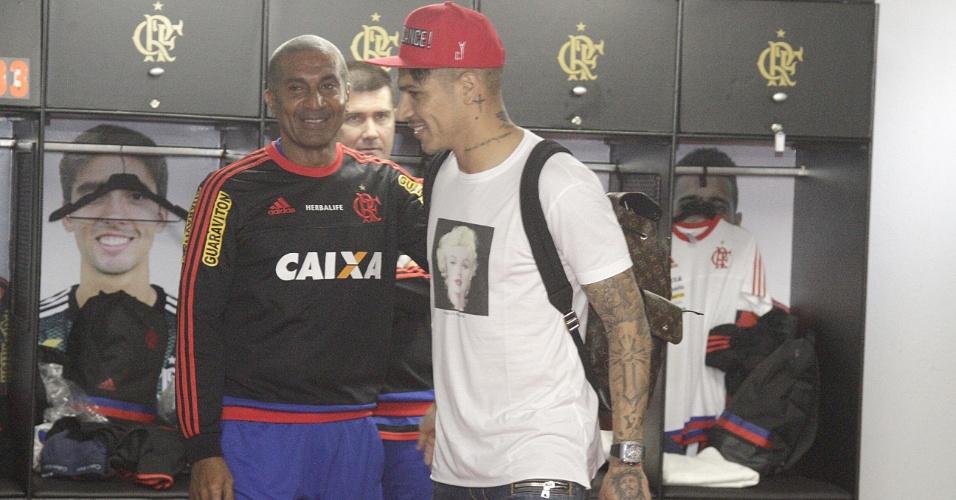 Pressionado pelos resultados, técnico Cristóvão Borges vê Guerrero como esperança por melhores dias