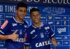 Cruzeiro apresenta volante Marciel e apoiador Bruno Nazário - Washington Alves/Light Press/Cruzeiro
